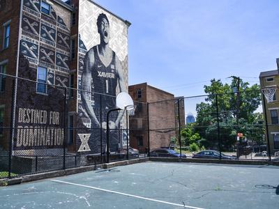 Xavier Athletics Fake Mural Campaign