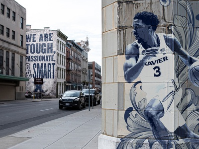 Xavier Fake Mural Campaign