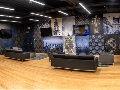 Xavier Student Lounge Interior Design
