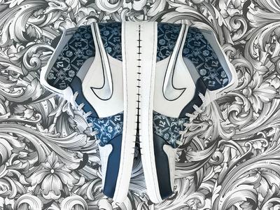 Custom Nikes for Xavier Athletics