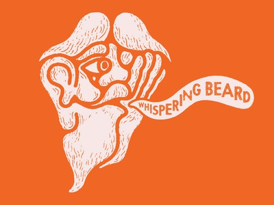 Whispering Beard Logo Design