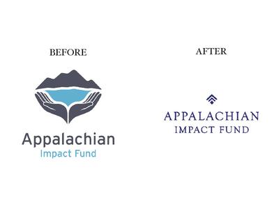 Appalachian Kentucky Logo Design Before and After