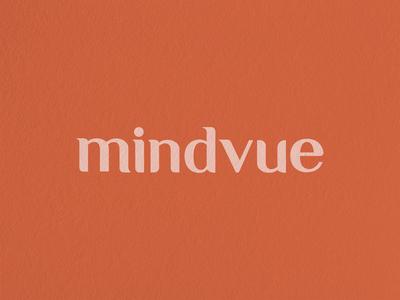 mindvue typography logo brand