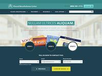 Pleural Books Landing Page