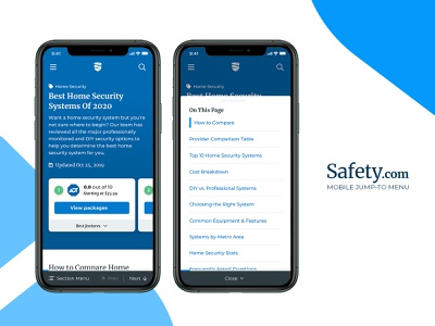Mobile Jump-to Menu - Safety.com section menu previous next menu table of contents jump-to mobile website site