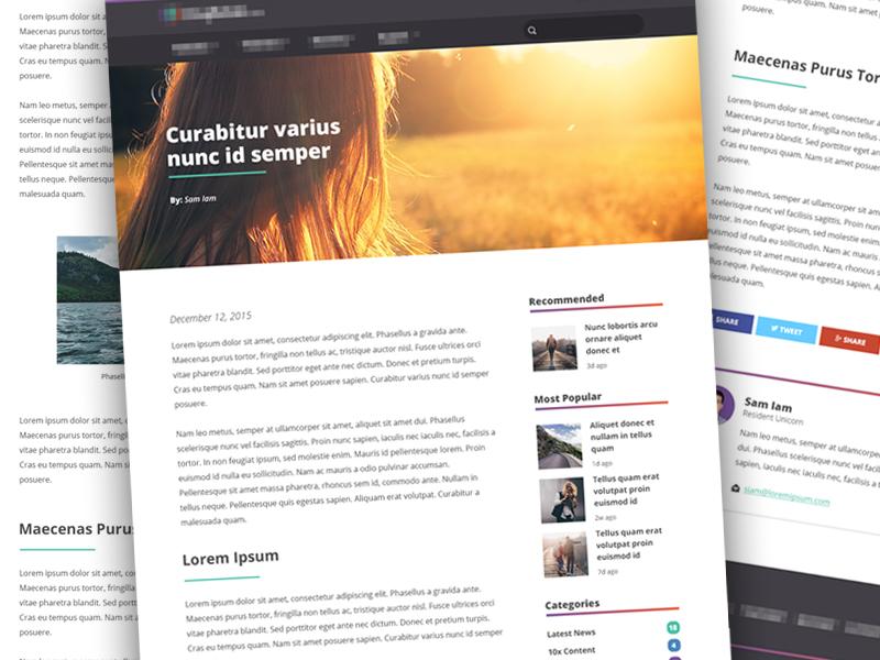 Blog Post blog website site