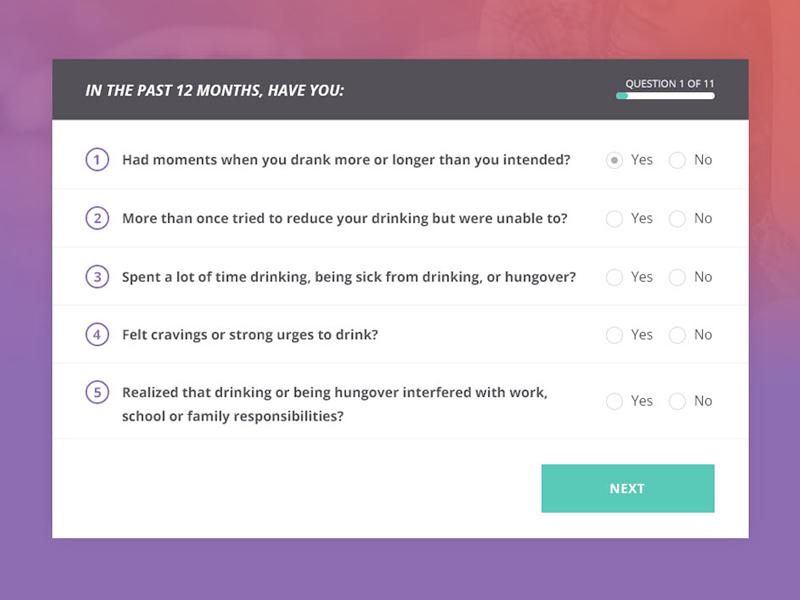 Quiz - Desktop Version desktop form quiz website site