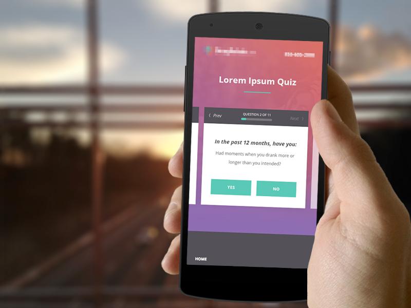 Quiz - Mobile Version mobile form quiz website site