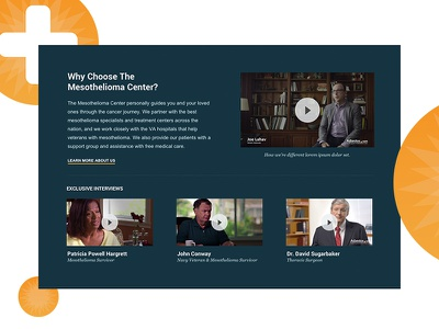 Why Choose web about us videos website site