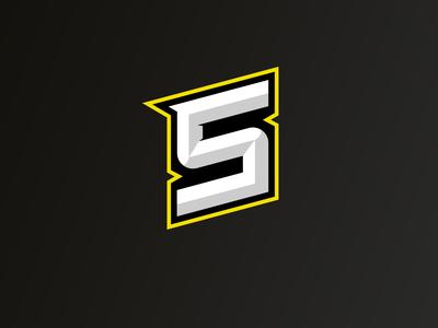 Shine lettermark design branding logo