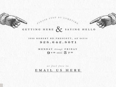 Say Hello / Type Treatments