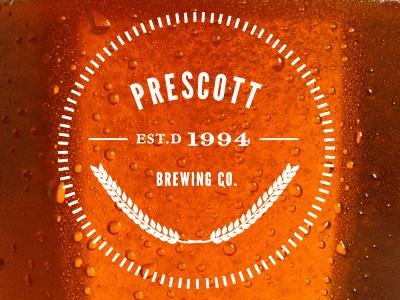 Prescott Brewing Co. logo redesign logo typography redesign beer arizona