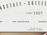 Flagstaff Coffee Company Redesign