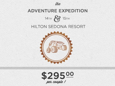Adventure Expedition  gotham paper white outdoors sedona orange wisdom logo design typography