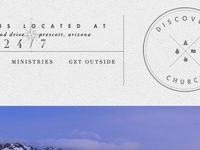 Header Redesign / Discovery Church