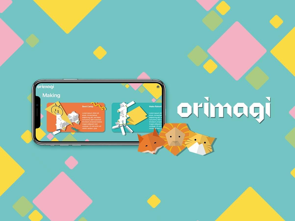 Orimagi App Design product design uidesign uxdesign photoshop illustration designs ux app ui design