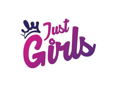 Just Girls - Branding for Women Apparel Brand classy girls branding logo