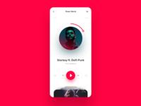 Music Player UI Concept