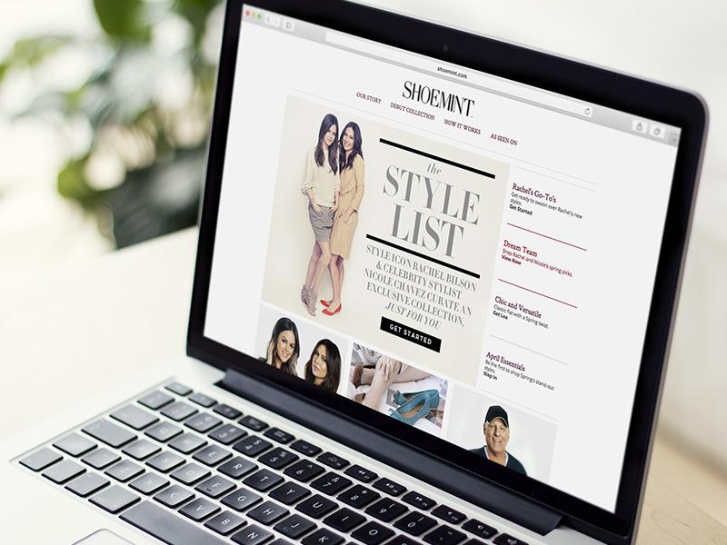ShoeMint Website shopping fashion ecomm ecommerce shoe website