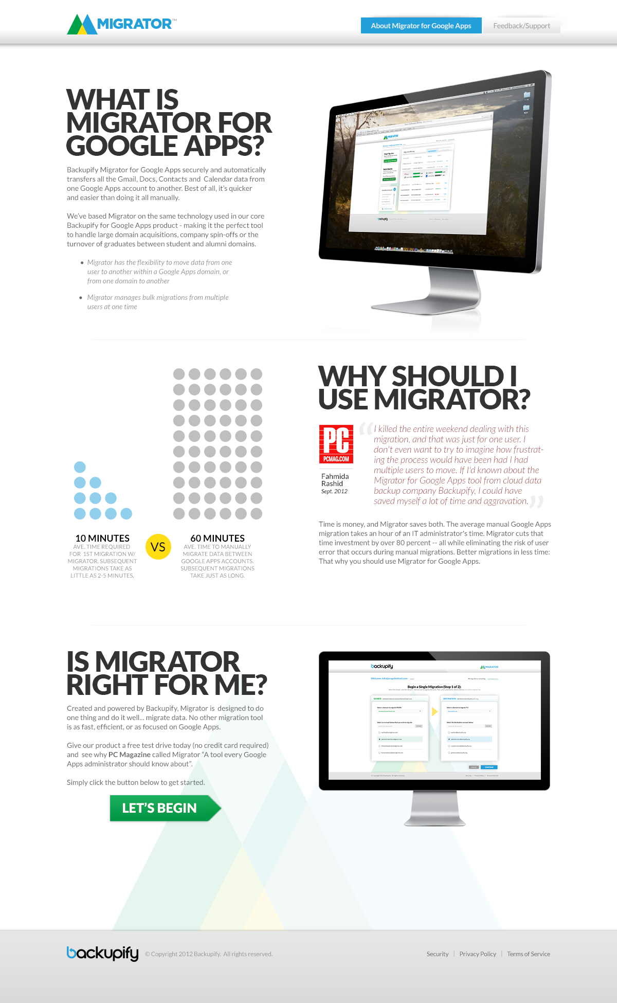 Migratorpage