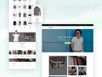 Menswear WooCommerce Theme good design woocommerce theme woocommerce web design menswear themerox theme themes