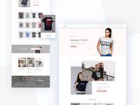 T-shirt Woo-commerce theme