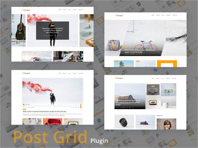 VC Post Grid plugin best design live demo uidesign template ecommerce woocommerce themerox post grid visual composer theme forest blog design blog plugins plugin