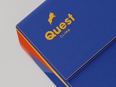 Quest Climb Brand Identity pattern brandmark packaging pattern design colour palette logo identity logo branding design branding design