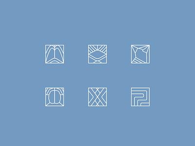 Beyond Breath Brand Identity icon pattern design colour palette logo identity branding design design logo branding