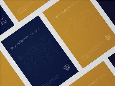 Beyond Breath Brand Identity poster design posters colour palette logo identity branding design logo design branding