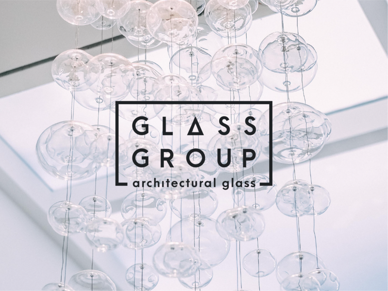 Glass Group Brand Identity packaging colour palette logo identity branding design logo design branding
