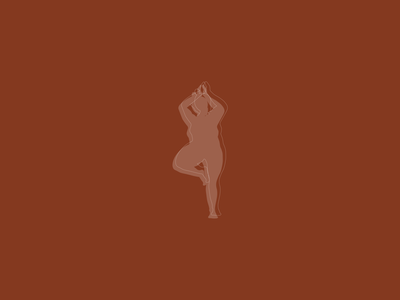 Worthy & Well Yoga Illustrations illustration design branding