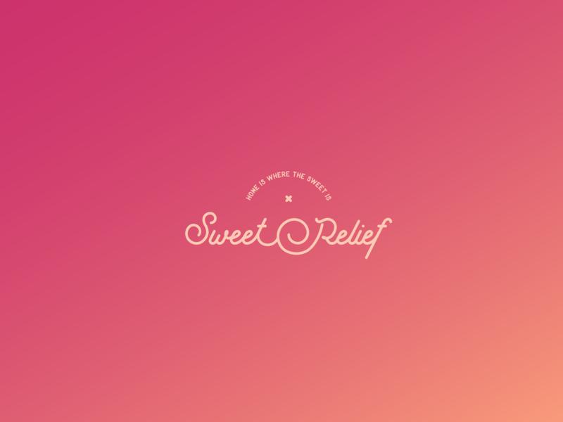 Sweet Relief Rebrand pattern pattern design packaging colour palette logo identity branding design logo design branding
