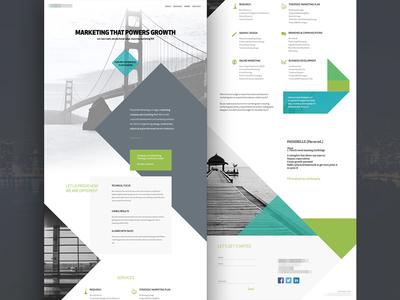 Agency Homepage Wip