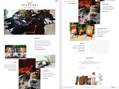 Izikhumba Homepage