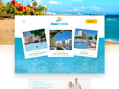 Hotel Chain Website hotels