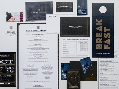 The Read House Rebranding flapper 1920s 1920 branding concept branding design branding agency typography type print hotel branding