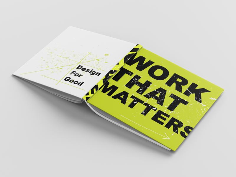 Work That Matters type illustrator cc indesign illustration vector photoshop typography publication design graphic art design for good graphic  design flat design editorial layout editorial design corporate branding branding book art book adobe