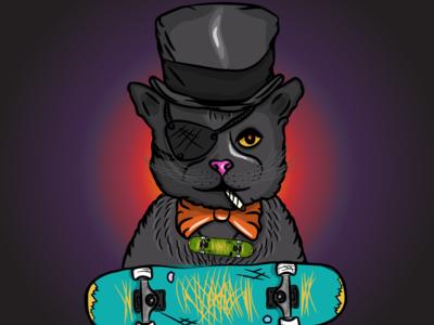 Salvador- A badass kitty