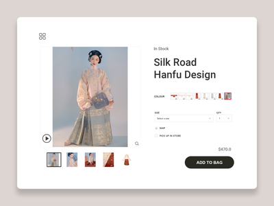 DailyUI 096 - In Stock online shopping purchase customized shopping bag shopping ecommerce product design product page in stock 096 ux branding web design ui design ux design interaction design daily 100 challenge dailyuichallenge uxui dailyui