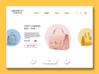 E-Commerce Shop design-single product