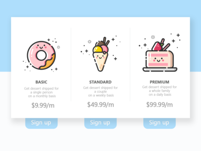 DailyUI 030 - Pricing