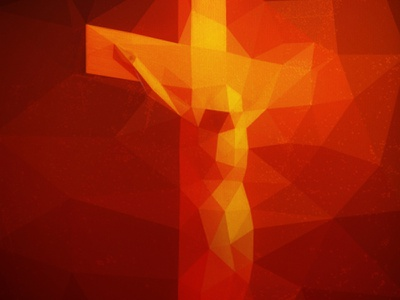 Piss Christ triangles mesh lab generative-art cocobongo experiment