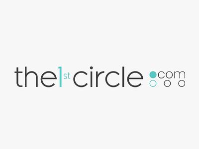 the1stcircle.com logo illustration logo design
