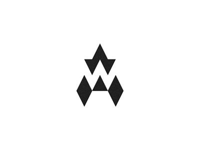 AW Monogram monogram logo logomark