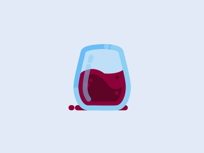 Pinot booze illustration wine