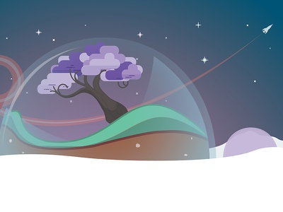 Habitat space illustration