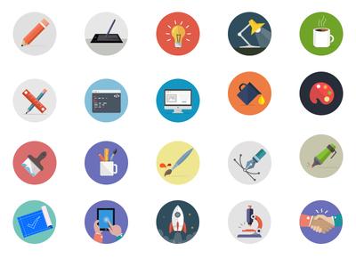 Creativity icons