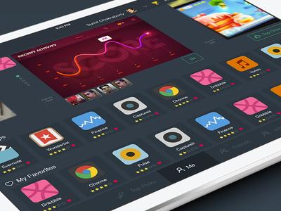 App discovery Ipad app