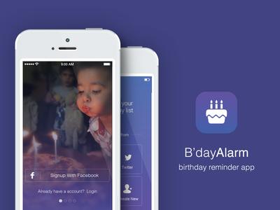 Birthday Reminder App